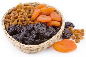 Semena, ořechy a sušené ovoce