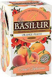 BASILUR Fruit Orange Peach přebal 20x1,8g 4442
