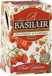 BASILUR Fruit Strawberry & Raspberry přebal 20x1,8g 4447