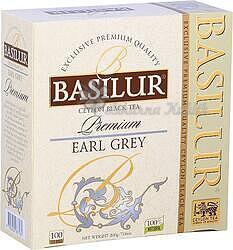 Basilur Premium Earl Grey nepřebal 100x2g 3892