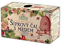 Grešík Šípek+med čaj 20 n.s.
