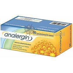 Analergin por.tbl.flm. 90x10mg