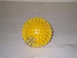Masážní míč ježek 8 cm