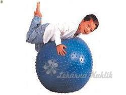 Masážní míč 55cm s výstupky