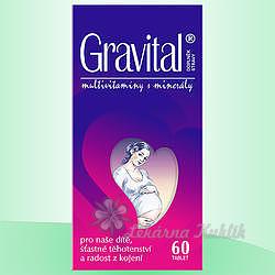 VitaHarmony Gravital tbl.60 pro těhot.a koj.ženy - 1