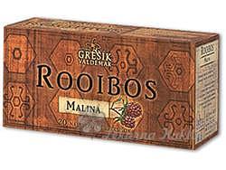 Grešík ROOIBOS Malina čaj 20 n.s.
