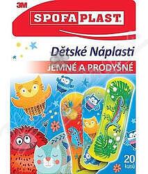 3M Spofaplast 116 Dětské náplasti 72x25mm 20ks