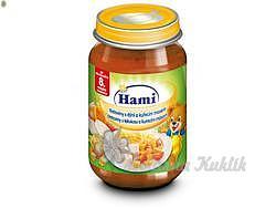 Hami příkrm těstoviny s dýní a kuřetem 200g 8M