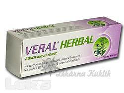 HBF Veral HERBAL kostivalová mast 100ml