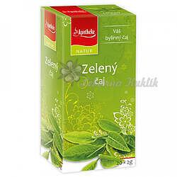 APOTHEKE NATUR Zelený čaj 20x1,5g