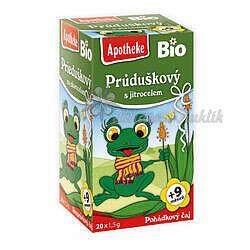 Apotheke Pohádkový čaj dětský BIO  Průduškový 20x1.5g