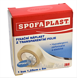 3M Spofaplast Náplast fix.transp.fol.431 5mx12.5mm