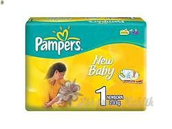PAMPERS Newborn 2-5kg 43ks