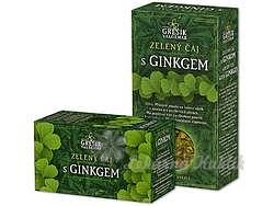 Grešík Zelený čaj s ginkgem 70g