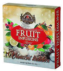 Basilur Fruit Infusions Assorted Vánoční přebal 40 gastro sáčků 4432 - 1