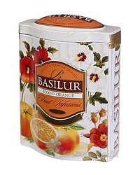 Basilur ovocný Blood Orange plech 100g 4603