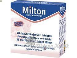 Milton sterilizační tablety 28ks