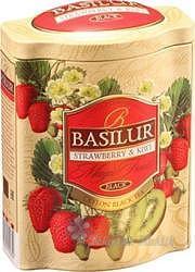 Basilur Black Strawberry-Kiwi plech 100g+ 7553