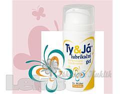 Lubrikační gel TyJá parf.vůní broskve 100ml Dr.Müller