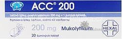 ACC 200 por tbl eff20x200mg