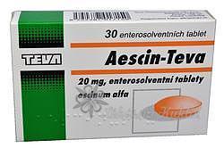 AESCIN TBL OBD 30X20MG