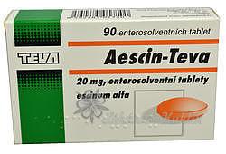 Aescin-Teva por.tbl.ent. 90x20mg