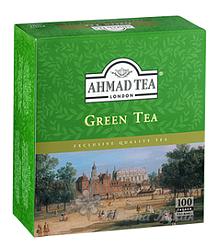Ahmad Green Tea 100n.s. bez přebalu se šňůrkou