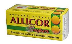 Allicor Super česnek+vitamin.tbl.60