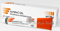 ALMIRAL GEL GEL 1X100GM