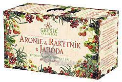 Grešík Aronie & Rakytník & Jahoda 20 n.s. Ovocný čaj
