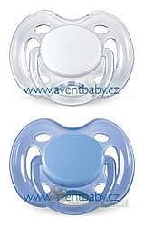 AVENT Šidítko SENSITIVE 0-6m.bez BPA 2ks