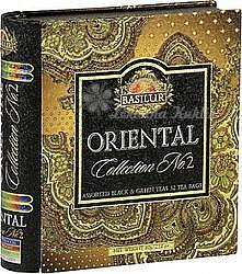 Basilur Book Orient Assorted II plech 32 gastro sáčků 7785 - 1
