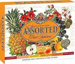 BASILUR Fruit Infusions Assorted přebal 60 sáčků 4431