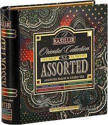 Basilur Book Assorted Orient plech 24x2g a 8x1,5g 7783