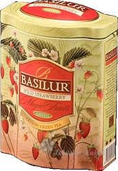 Basilur wild strawberry plech 100g 7560