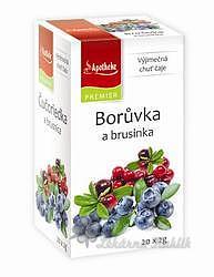 Apotheke Borůvka a brusinka čaj 20x2g n.n.