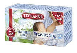TEEKANNE MotherChild Breastfeeding Tea 20x1.8g