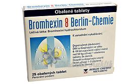 Bromhexin 8 drg.25x8mg Berlin-Chemie