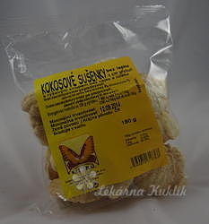Sušenky kokosové s citrónem 150g NATURAL