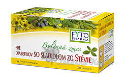 Byl.směs pro diabet.se slad.stevie 20x1.5g Fytoph.