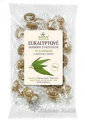Grešík Eukalyptové bonbóny bez cukru 100 g