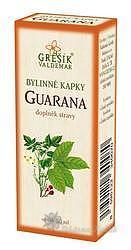 Grešík Kapky Guarana 50 ml
