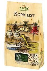 Grešík Kopr list 20 g Dobré koření