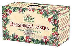 Grešík Ovocný čaj Brusinková paseka 20 n.s.