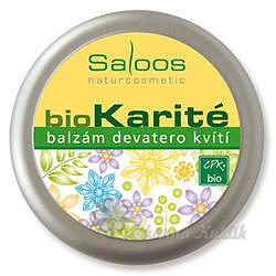 Saloos bio Karité balzám devatero kvítí 50ml 7755110