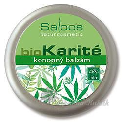 Saloos bio Karité konopný balzám 50ml 7755123