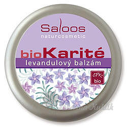 Saloos bio Karité levandulový balzám 50ml 7755125