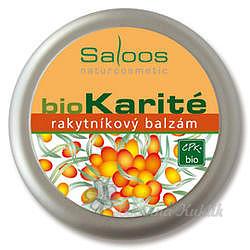 Saloos bio Karité rakytníkový balzám 50ml 7755137
