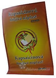 Kapsaicinová hřejivá náplast 12x18cm 1ks