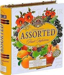 BASILUR Fruit Infusions Book Summer Fiesta plech 32x1,8g 4436